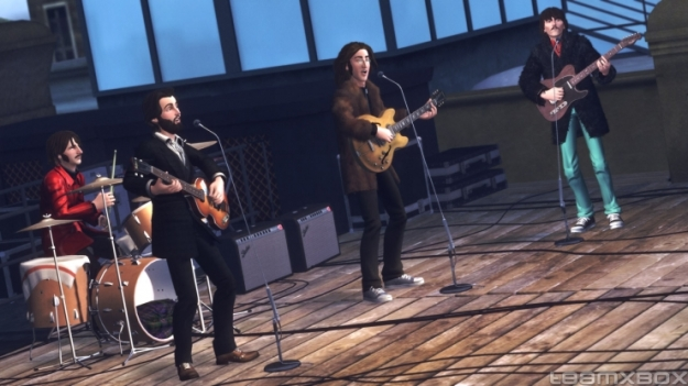 the beatles: rock band rooftop